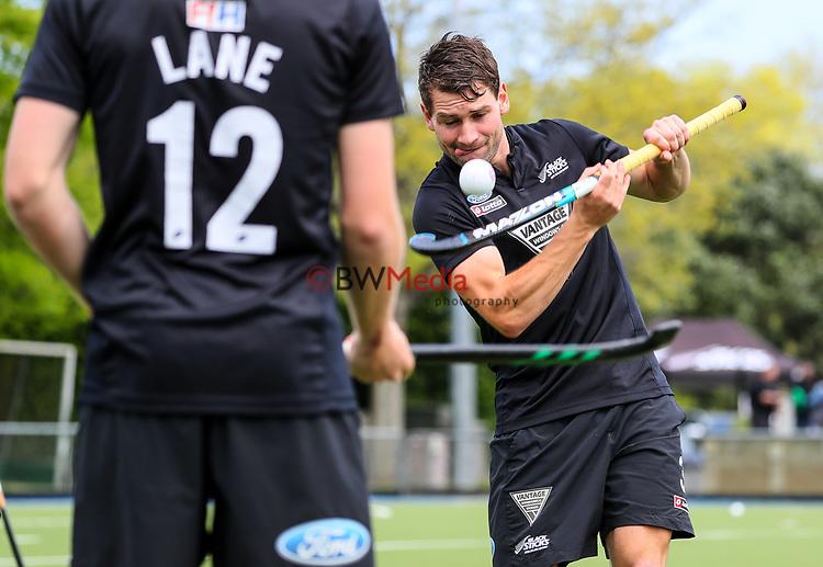 Hayden Phillips. International Hockey, Blacksticks men v Canada. Lloyd Elsmore Park, Auckland, New Zealand. Saturday 20 October 2018. Photo: Simon Watts/Hockey NZ