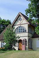Haus auf der kurischen Nehrung, Litauen, Europa