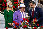 MAY 01, 2021:  Amr Zedan with Frank Taylor after winning the Kentucky Derby at Churchill Downs in Louisville, Kentucky on May 1, 2021. EversEclipse Sportswire/CSM