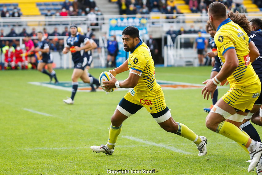 Fritz LEE of Clermont during the Top 14 match between Clermont and Agen on October 3, 2020 in Clermont-Ferrand, France. (Photo by Romain Biard/Icon Sport) - Stade Marcel Michelin - Clermont Ferrand (France)