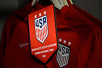 Jacksonville, FL - Thursday April 5, 2018: USWNT locker room during an International friendly match versus the women's National teams of the United States (USA) and Mexico (MEX) at EverBank Field.