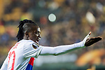 Bertrand Traore of Olympique Lyon reacts during the UEFA Europa League 2017-18 Round of 32 (2nd leg) match between Villarreal CF and Olympique Lyon at Estadio de la Ceramica on February 22 2018 in Villarreal, Spain. Photo by Maria Jose Segovia Carmona / Power Sport Images