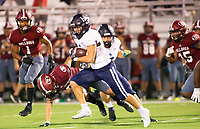 Lane Reiter (1) of Springdale Har-ber runs the ball against Springdale at Jarrell Williams Bulldog Stadium, Springdale, Arkansas on Friday, October 9, 2020 / Special to NWA Democrat-Gazette/ David Beach