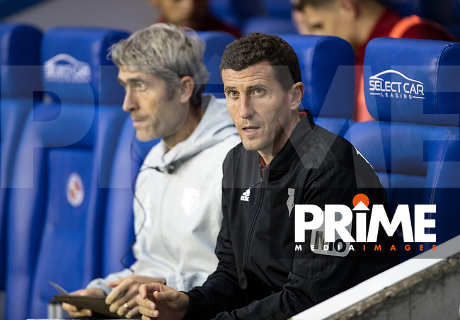 Watford manager Javi Gracia during the Carabao Cup Round 2 match between Reading and Watford at the Madejski Stadium, Reading, England on 29 August 2018. Photo by Andy Rowland