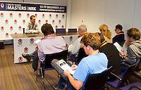 17-12-11, Netherlands, Rotterdam, Topsportcentrum, Persconferentie Thiemo de Bakker