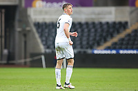 Sunday 18 March 2018<br /> Pictured:  Joe Lewis of Swansea City<br /> Re: Swansea City v Manchester United U23s in the Premier League 2 at The Liberty Stadium on March 18, 2018 in Swansea, Wales.