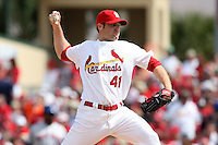 March 20, 2010:  Relief Pitcher Mitchell Boggs (41) of the St. Louis Cardinals during a Spring Training game at the Roger Dean Stadium Complex in Jupiter, FL.  Photo By Mike Janes/Four Seam Images