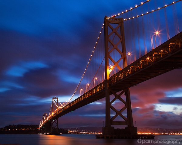 Sunrise at San Francisco's Bay Bridge