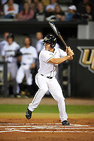 UCF Knights designated hitter Ryan Crile (7) at bat during a game against the Siena Saints on February 17, 2017 at UCF Baseball Complex in Orlando, Florida.  UCF defeated Siena 17-6.  (Mike Janes/Four Seam Images)