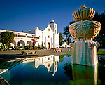 'Known as 'King of the Missions' Mission San Luis Rey De Francia, the eighteenth mission, founded on June 13, 1798 at Oceanside, California