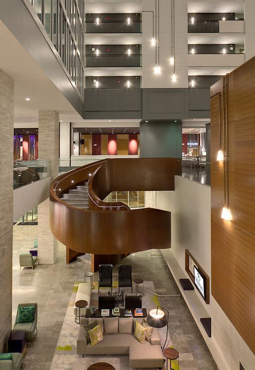 Hilton Downtown Columbus   Architects: HOK & Moody Nolan   Construction: Turner Construction & Smoot Construction
