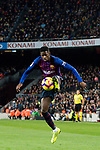 Ousmane Dembele, O Dembele, of FC Barcelona in action during the La Liga 2018-19 match between FC Barcelona and RC Celta de Vigo at Camp Nou on 22 December 2018 in Barcelona, Spain. Photo by Vicens Gimenez / Power Sport Images