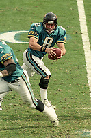 Mark Brunell, #8, NFL AFC Championship game, which the Tennessee Titans won over the Jacksonville Jaguars 33-14 on January 23, 2000 in Jacksonville, FL.  (Photo by Brian Cleary/bcpix.com)