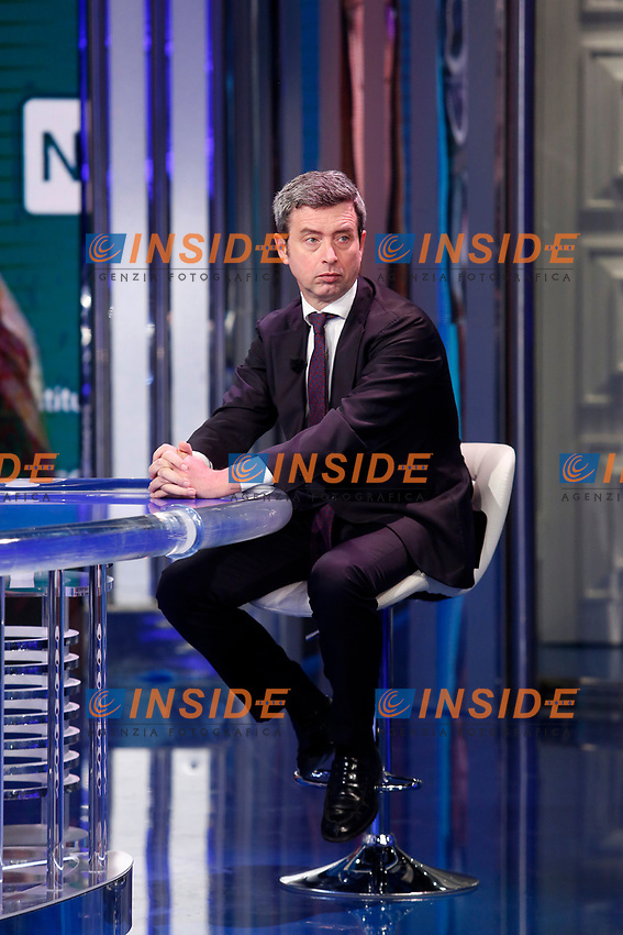 The deputy and vice secretary of the Italian Democratic Party Andrea Orlando appears as a guest on the talk show Porta a Porta. <br /> Rome (Italy), November 19th 2020<br /> Photo Samantha Zucchi Insidefoto