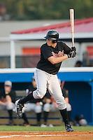 Bluefield first baseman Paul Chmiel (19) at bat versus Burlington at Burlington Athletic Park in Burlington, NC, Monday, August 6, 2007.