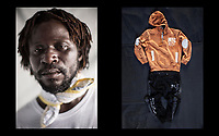 MIGRATION: THE CLOTHES I WORE BEFORE CROSSING THE MEDITERRANEAN -WORK IN PROGRESS- (2017)