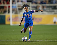 Caprice Dydasco. UCLA advanced on penalty kicks after defeating Virginia, 1-1, in regulation time at the NCAA Women's College Cup semifinals at WakeMed Soccer Park in Cary, NC.