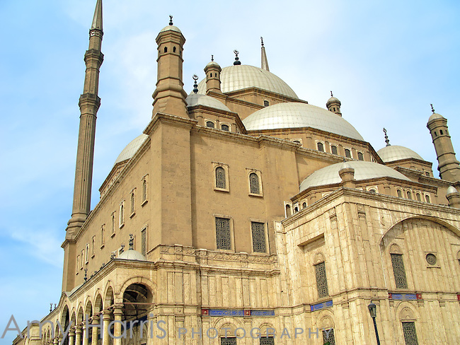 The Mosque of Muhammad Ali in Cairo, Egypt.