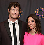 Benjamin Walker and Kaya Scodelario attends The 69th Annual Outer Critics Circle Awards Dinner at Sardi's on May 23, 2019 in New York City.