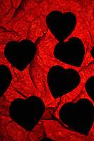Cioccolatini a forma di cuore per la festa di San Valentino. .Chocolate heart-shaped for the feast of St. Valentine...