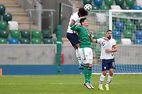 BELFAST, NORTHERN IRELAND - MARCH 28: Chris Richards #15 of the United States during a game between Northern Ireland and USMNT at Windsor Park on March 28, 2021 in Belfast, Northern Ireland.