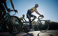 Jos van Emden (NLD/LottoJumbo) returning from a 7hr training ride<br /> <br /> Team Lotto Jumbo winter training camp<br /> <br /> January 2015, Mojácar, Spain