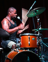 Lightnin' Malcolm and Cameron Kimbrough play d.b.a. in New Orleans, LA.