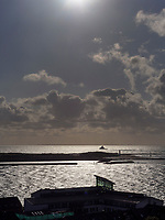 Blick vom Oberland auf Düne und Atoll, Insel Helgoland, Schleswig-Holstein, Deutschland, Europa<br /> Dune and Atoll seen from Oberland, Helgoland island, district Pinneberg, Schleswig-Holstein, Germany, Europe