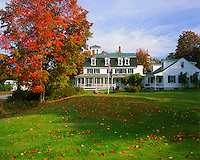 USA, Maine, Center Lovell Inn Bed & Breakfast located in the foothills of the White Mountains.