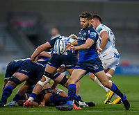 21st August 2020; AJ Bell Stadium, Salford, Lancashire, England; English Premiership Rugby, Sale Sharks versus Exeter Chiefs; Will Cliff of Sale Sharks clears the ball