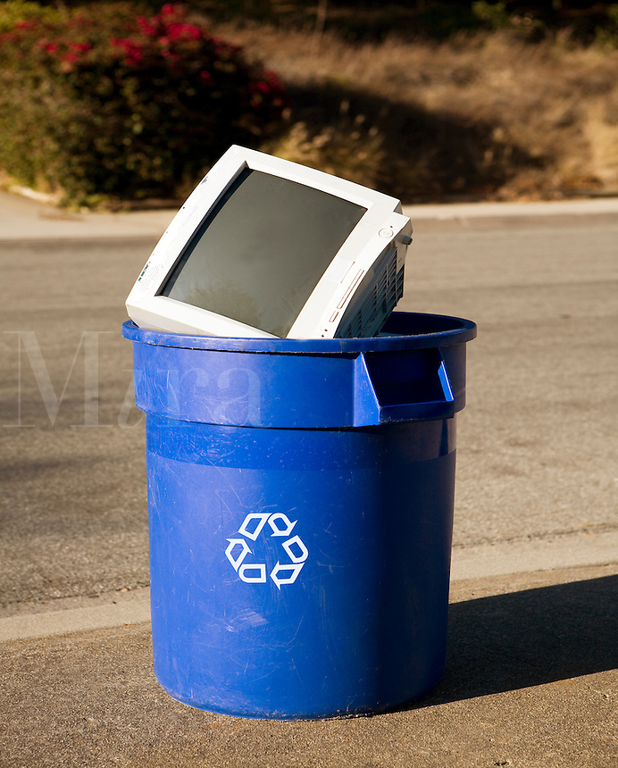 Curb-side recycling
