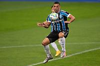14th October 2020; Arena de Gremio, Porto Alegre, Brazil; Brazilian Serie A, Gremio versus Botafogo; Diego Souza of Gremio controls the high ball