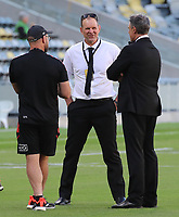 25th September 2021; Townsville, Gold Coast, Australia;  Assistant All Blacks coach John Plumtree. All Blacks versus Springboks. The Rugby Championship. 100th Rugby Union test match between New Zealand and South Africa.
