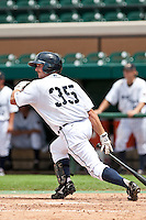 Kody Kaiser (35) of the Lakeland Flying Tigers during a game vs. the Ft. Myers Miracle June 6 2010 at Joker Marchant Stadium in Lakeland, Florida. Ft. Myers won the game against Lakeland by the score of 2-0.  Photo By Scott Jontes/Four Seam Images