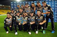 160122 International T20 Cricket - NZ Blacks v Pakistan