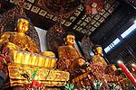 The Jade Buddha Temple in Shanghai, China.