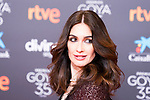 Actress Paz Vega attends the red carpet previous to Goya Awards 2021 Gala in Malaga . March 06, 2021. (Alterphotos/Francis González)