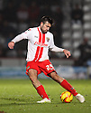 Michael Doughty of Stevenage (on loan from QPR)<br />  - Stevenage v Rotherham United - Sky Bet League 1 - Lamex Stadium, Stevenage - 16th November, 2013<br />  © Kevin Coleman 2013