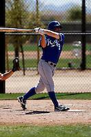Tug Hulett - Kansas City Royals - 2009 spring training.Photo by:  Bill Mitchell/Four Seam Images