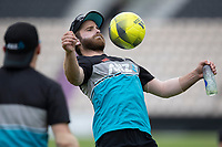 Kane Williamson, New Zealand during a training session ahead of the ICC World Test Championship Final at the Hampshire Bowl on 17th June 2021