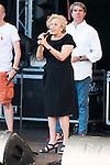 Madrid Mayor Manuela Carmena during the protest Madrid Pride 2016. July 02. 2016. (ALTERPHOTOS/Borja B.Hojas)