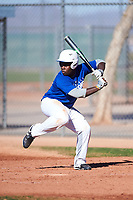 Ruben (RJ) Christie (54), from Langhorne, Pennsylvania, while playing for the Dodgers during the Under Armour Baseball Factory Recruiting Classic at Red Mountain Baseball Complex on December 29, 2017 in Mesa, Arizona. (Zachary Lucy/Four Seam Images)