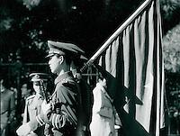 Soldat in Peking, China 1989