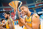 Herbalife Gran Canaria's player Richard Hendrix during the final of Supercopa of Liga Endesa. September 24, Spain. 2016. (ALTERPHOTOS/BorjaB.Hojas)