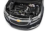 High angle engine detail of a 2013 Chevrolet CRUZE LTZ 5 Door Hatchback 2WD