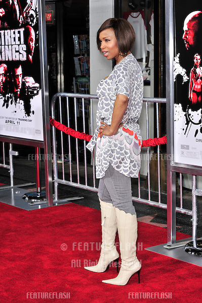 """Elise Neal at the Los Angeles premiere of """"Street Kings"""" at Grauman's Chinese Theatre, Hollywood..April 3, 2008  Los Angeles, CA.Picture: Paul Smith / Featureflash"""