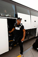 Photo: Richard Lane/Richard Lane Photography. London Wasps in Abu Dhabi for their LV= Cup game against Harlequins on 30th January 2011. 01/02/2011. Wasps' Tom Varndell at the airport.