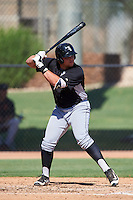 Chicago White Sox Corey Zangari (44) during an Instructional League game against the San Francisco Giants on October 10, 2016 at the Camelback Ranch Complex in Glendale, Arizona.  (Mike Janes/Four Seam Images)