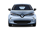 Straight front view of a 2013 Renault Zoe Life ZE Hatchback2013 Renault Zoe Life ZE Hatchback