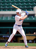 Apopka Blue Darters Matthew Prevesk (43) during the 42nd Annual FACA All-Star Baseball Classic on June 6, 2021 at Joker Marchant Stadium in Lakeland, Florida.  (Mike Janes/Four Seam Images)